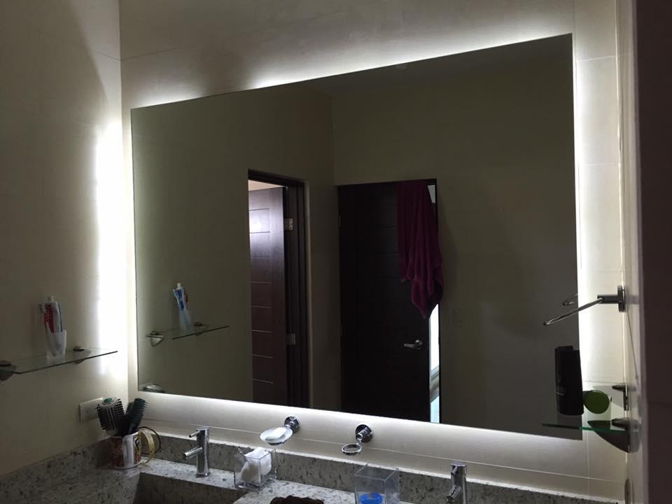 Espejos cobaglass - Espejos de bano con luz led ...